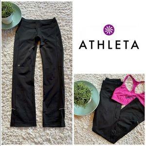 Athleta Running Workout Reflective Track Pants